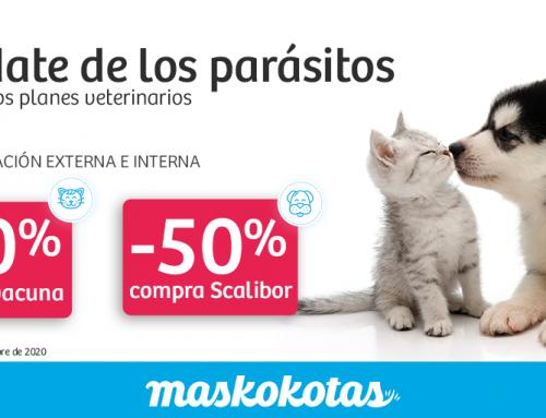 ¡Olvídate de los parásitos! · Campaña Antiparasitaria