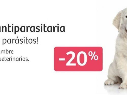 ¡Di adiós a los parásitos! · Campaña veterinaria 2021